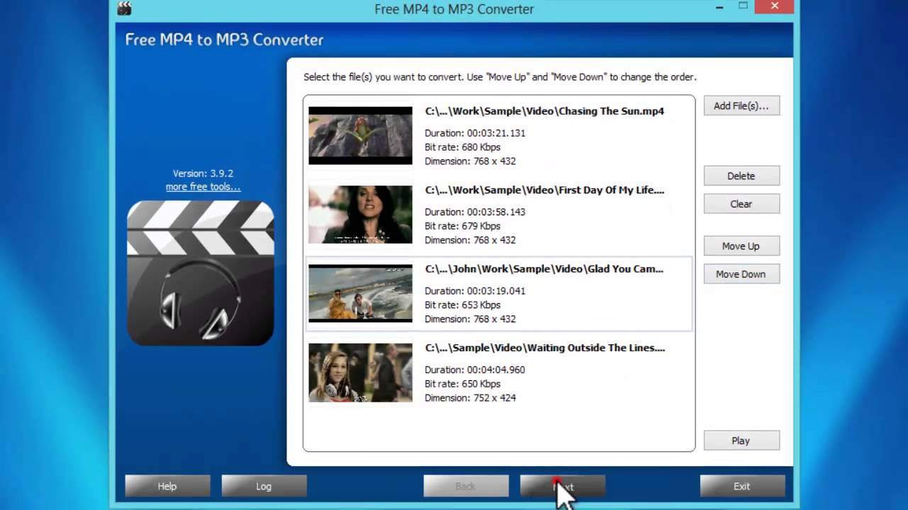 How to Convert MP4 to MP3 with Free MP4 to MP3 Converter