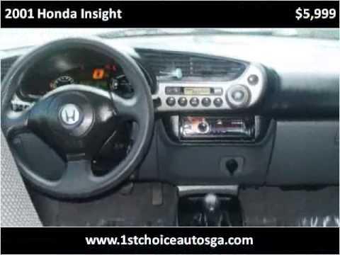 2001 Honda Insight Used Cars Smyrna GA