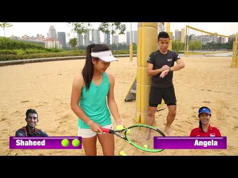 Singapore Tennis Festival Challenge 2017 (2): Sand Can Challenge