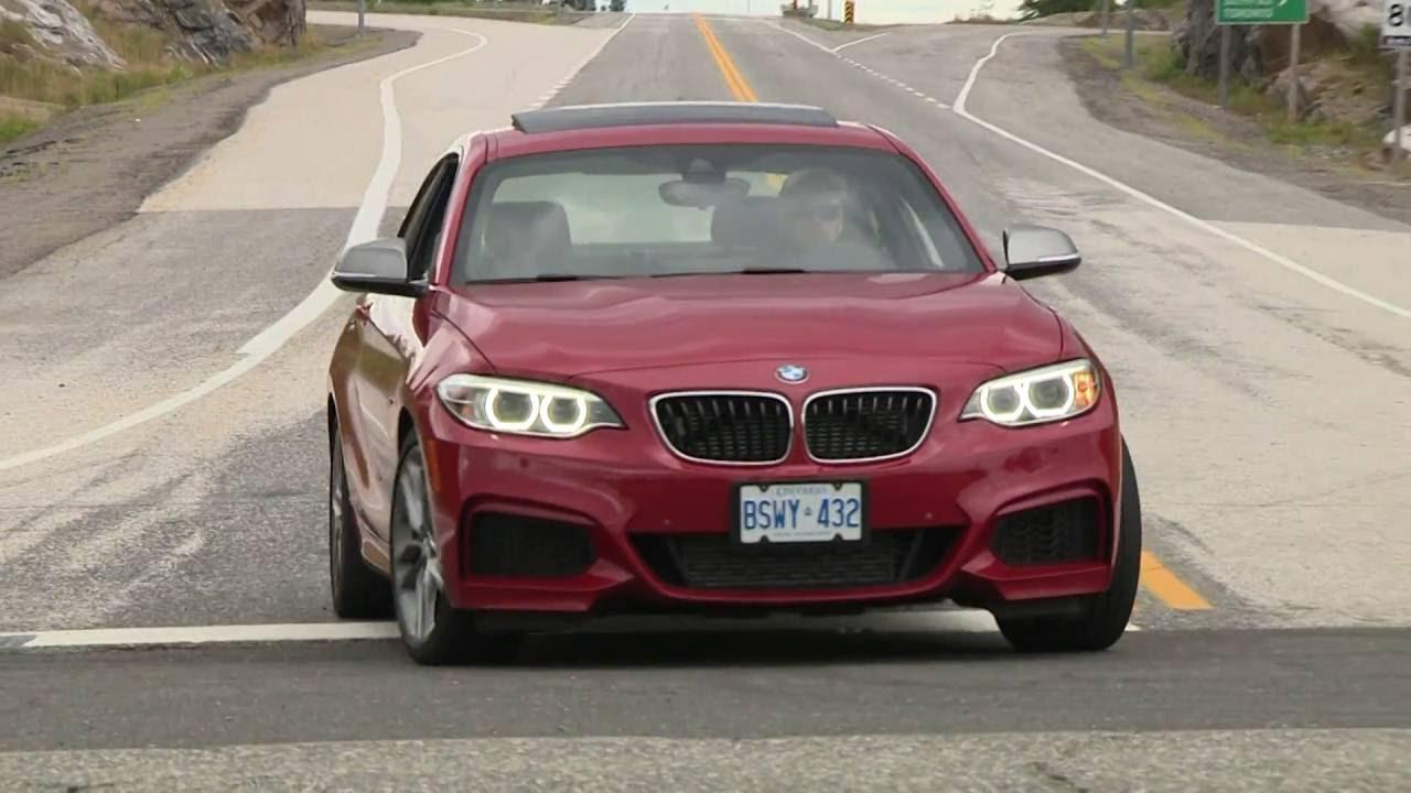 BMW Convertible bmw m235 test 2016 BMW M235i xDrive Test Drive - YouTube