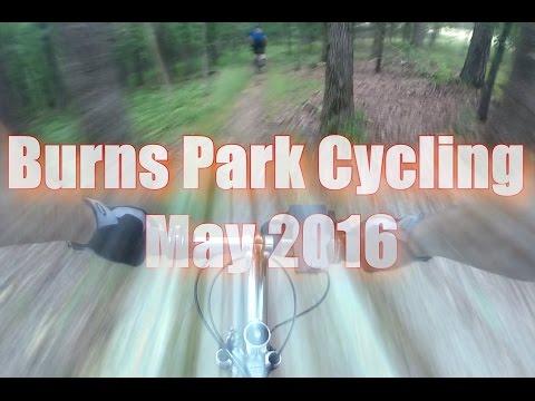 Mountain Bike in Burns Park Little Rock Arkansas
