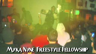 Myka Nyne and Freestyle Fellowship at Sound Science: Elite TV Presents Best Underground Hip Hop