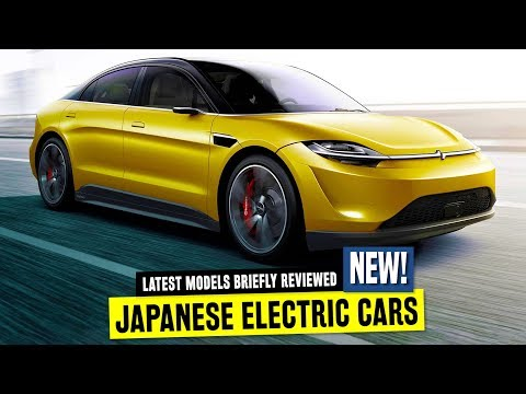 9 Modern Electric Cars Showing that Japan is Finally Serious about EVs