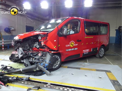 renault trafic opel vivaro euro ncap crash test youtube. Black Bedroom Furniture Sets. Home Design Ideas