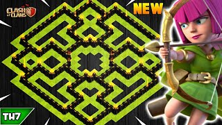 NEW TOWN HALL 7 FARMING/TROPHY BASE 2019! TH7 HYBRID BASE UPDATED!! - CLASH OF CLANS(COC)