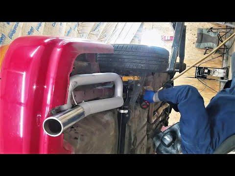 Ej8 D16 Civic Turbo Exhaust Drone Fix.