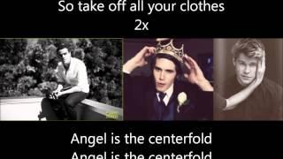 Glee - Centerfold /Hot In Herre (Lyrics)