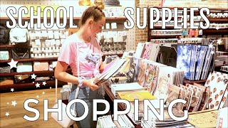 Back To School Supplies Shopping and Haul 2020! * come shop with me vlog*