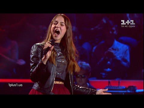 """Карина Столаба – """"Cryin'"""" – выбор вслепую – Голос. Дети 5 сезон"""