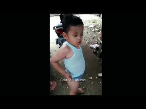 VIRAL! Video Bocah Kecil Marah Marah bikin NGAKAK!!!