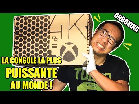 Notre UNBOXING de la Console la plus PUISSANTE DU MONDE - Xbox One X