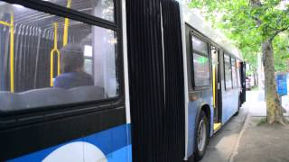 mta new york city bus 2012 novabus lfs artic 5974 on the m60 select bus service