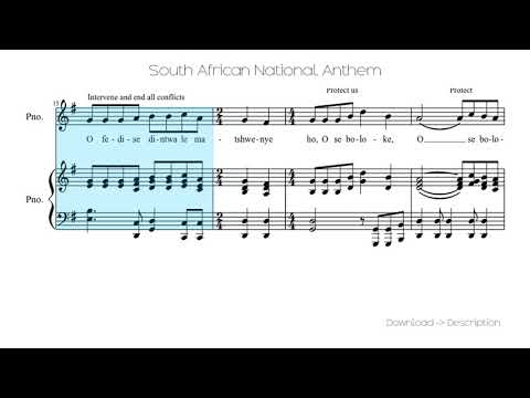 🎶 South African National Anthem 🎸🎸