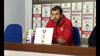 Diego Martínez. Previa Tenerife-Osasuna