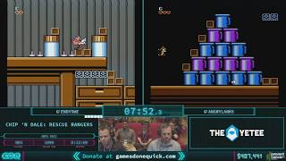 Chip 'N Dale: Rescue Rangers by EndySWE and angrylanks in 20:31 AGDQ 2018
