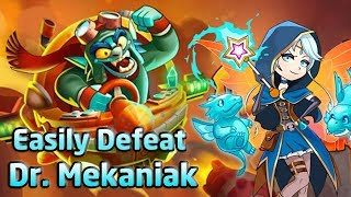 How to BEAT Dr. MEKANIAK (1 MILLION damage per run) NO hacks!  [EverWing tips/tricks]