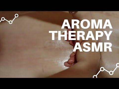 Aromatherapy Back Massage Asmr & 아로마 후면 전신마사지