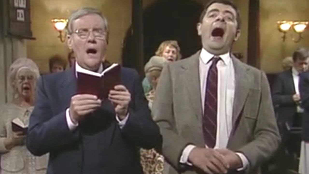 Sneaking Sweets in Church | Mr. Bean Official - YouTube