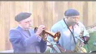 Dmitri Matheny, flugelhorn with Charles McNeal, saxophone