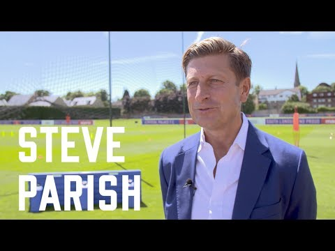 Steve Parish on Frank de Boer appointment as Crystal Palace Manager.