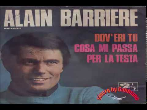 Alain Barriere - Dov'eri tu (karaoke - fair use)