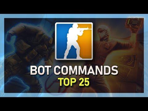 TOP 25 Bot Commands - CS:GO
