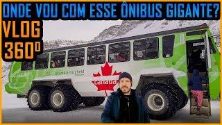 Vlog 360 Graus VR - Athabasca Glaciar