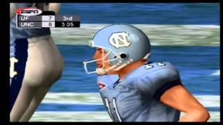 NCAA College Football 2K3 Florida vs North Carolina Part 3