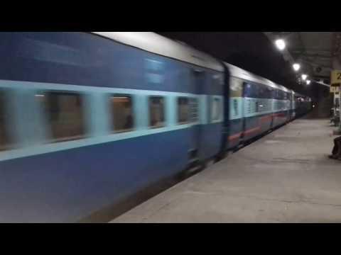 Bangalore Kolhapur Rani Chennamma Express @ Malleswaram Station