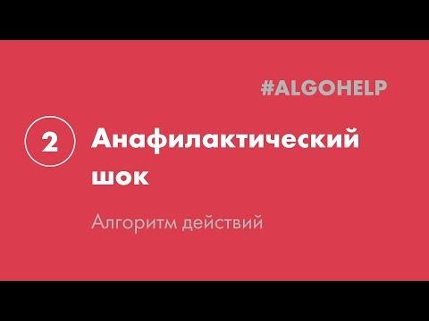 Анафилактический шок. Инструкция по использованию системы #ALGOHELP.