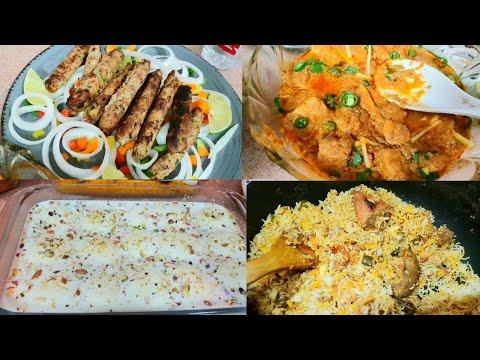 Dawat Preparation tips, Menu Planning with Full Recipes - Rasmalai, Reshmi Kabab, Degi Qorma