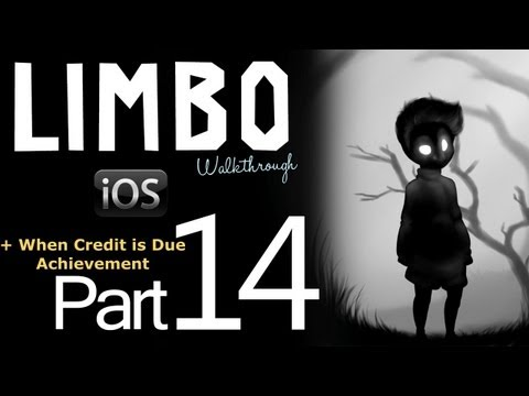 Limbo iOS Walkthrough Part 14 (Final) + When Credit is Due Achievement