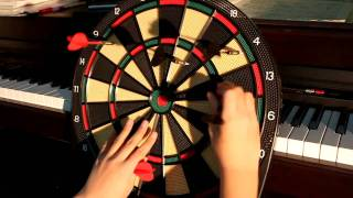 Darts Game on Electronic Dart Board (First Time)