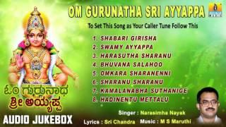 ಓಂ ಗುರುನಾಥ ಶ್ರೀ ಅಯ್ಯಪ್ಪ-Om Gurunatha Sri Ayyappa  Songs I Narasimha Nayak I Jhankar Music