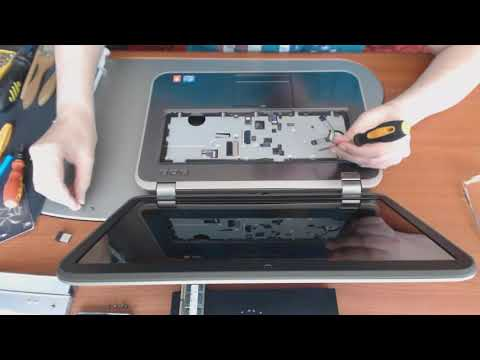 Disassembly DELL Inspiron 5520 7228 P25F P25F001 11BBGS1 95N6J PGMYP The third copy