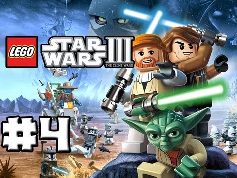 LEGO Star Wars 3 The Clone Wars Episode 04 The
