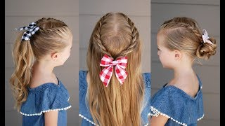 Back to School: 3 Five Minute Rope Braid Styles | Q's Hairdos