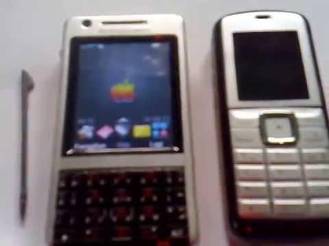 Sony Ericsson P1i, Nokia 6070, Nokia 2600