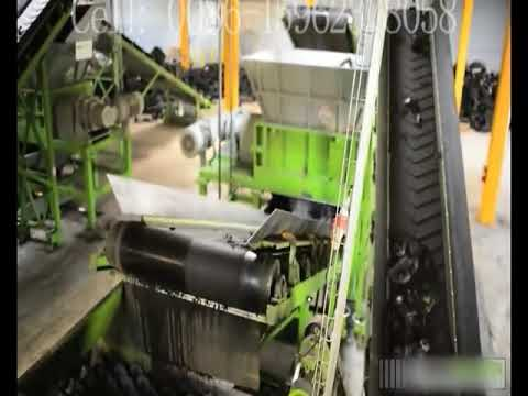 Waste Tire Recycling to Rubber Powder Machine