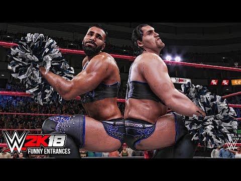 WWE 2K18 - Top 10 Entrances Ft Roman...