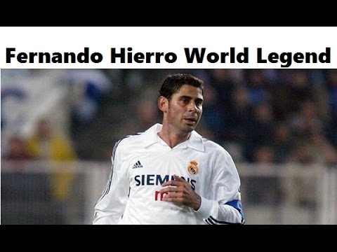 Review Fernando Hierro World Legend