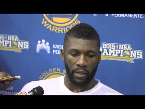 Festus Ezeli discusses possible return to Warriors