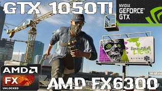 (1080p) Watch Dogs 2 - GTX 1050 TI - AMD FX 6300 -Benchmark ULTRA/HIGH/MED/LOW
