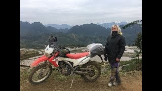 Vietnam Top Gear Specia Hanoi To Hoian On CRF250L Dirt bike