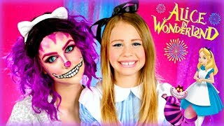 Alice in Wonderland Makeup: Alice and Cheshire Cat Makeup Tutorial