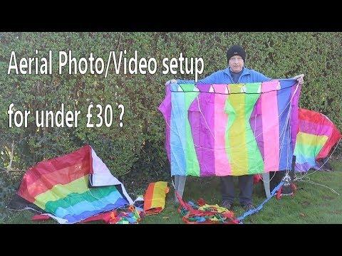 Cheap DIY Camera Kite For Gopro Around £30/$50 - Fun Way To Take KAP Pics Or Video From Above