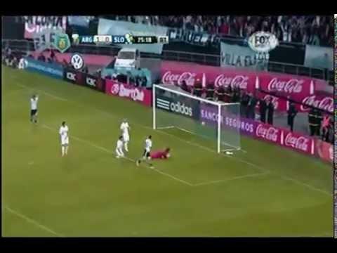 Argentina vs Slovenia 2-0 Goals