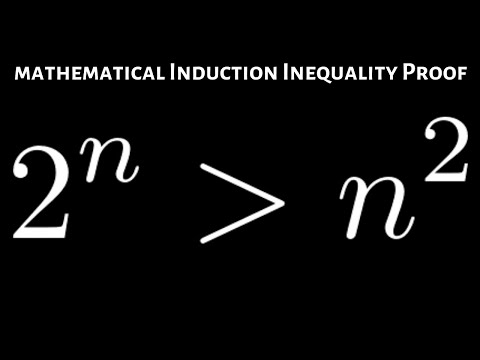 Inequality Mathematical Induction Proof: 2^n greater than n^2