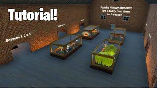 Fortnite History Museum Tutorial! | Fortnite Creative Escape Map!