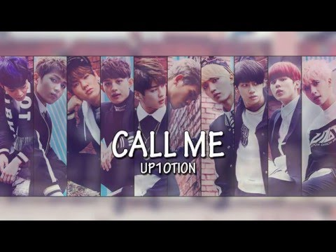 Up10tion - Call Me Lyrics (Hangul + Romanization + English)